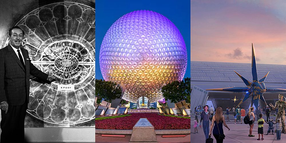 EPCOT Past, Present and Future, Images: Disney