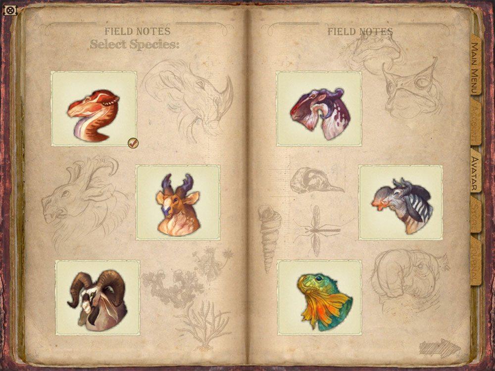 Evolution video game