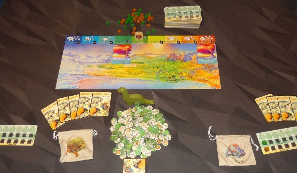 Evolution: Climate 2-player setup