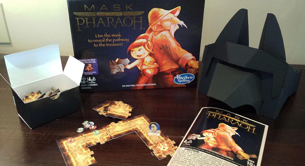 Mask of the Pharoah - Hasbro Gaming Crate