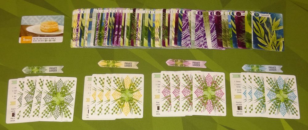 Herbaceous components