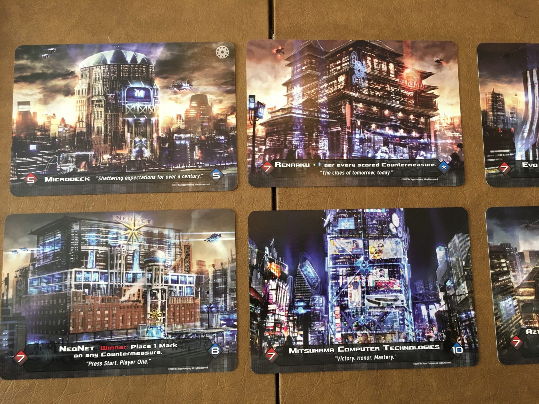 Megacorp cards