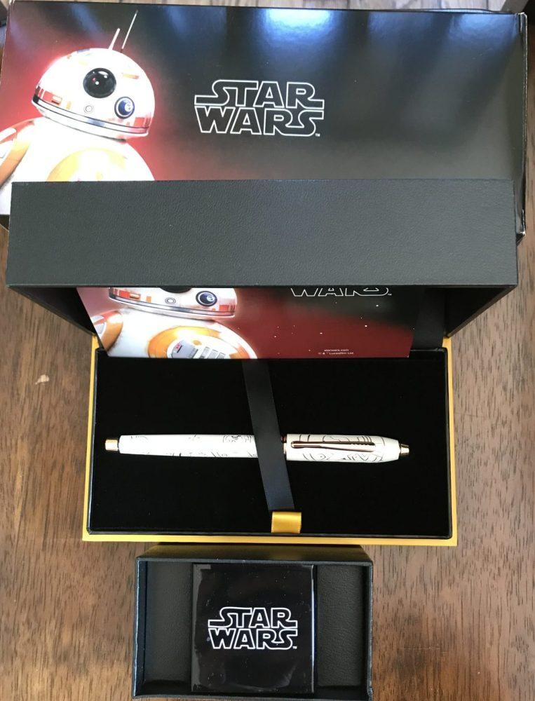 cross star wars pens