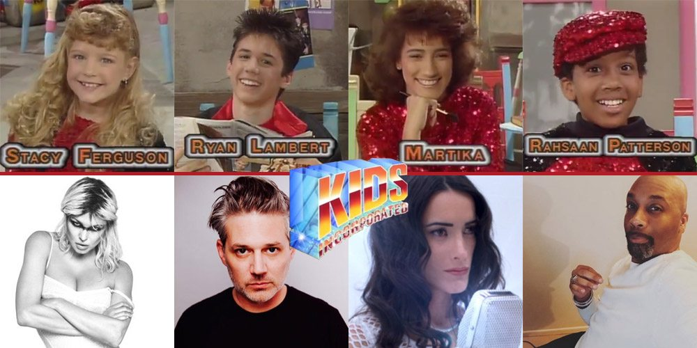 Kids Incorporated Cast Then & Now