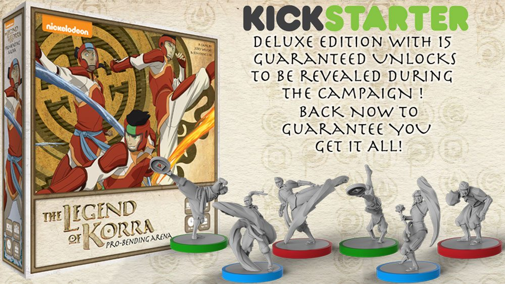 The Legend of Korra Kickstarter