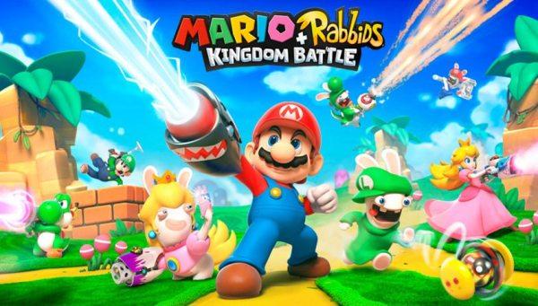 Mario + Rabbids: Kingdom Battle Cover Art