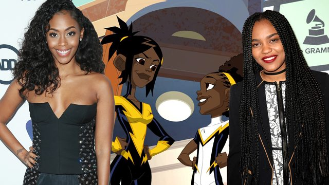 The Pierce sisters of the Black Lightning CW show
