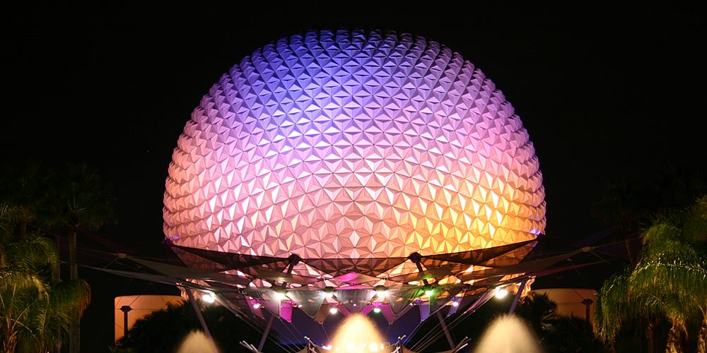 Spaceship Earth at EPCOT, Image: Sophie Brown