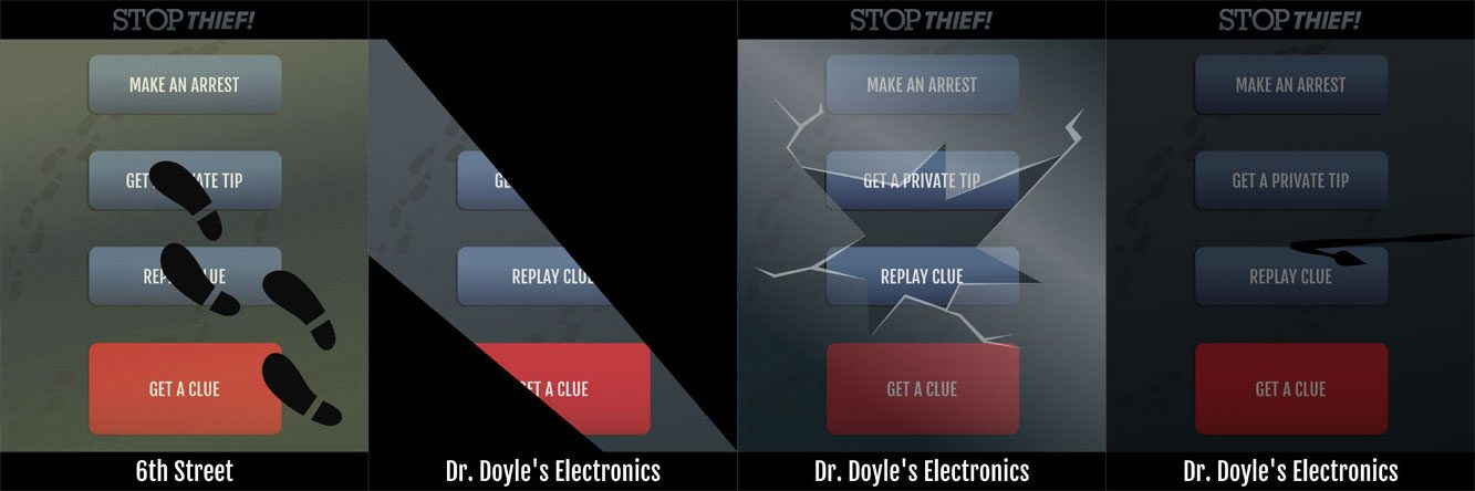 Stop Thief! actions