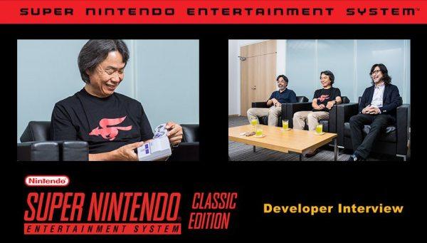 Super NES Classic video game system Developer Interview Series