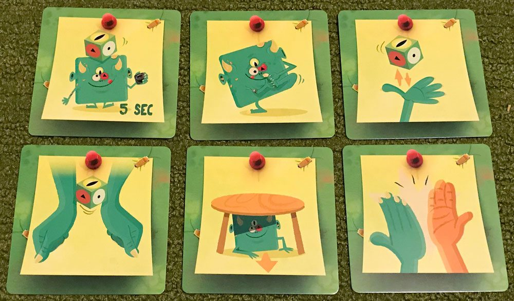 TerrorEyes action cards
