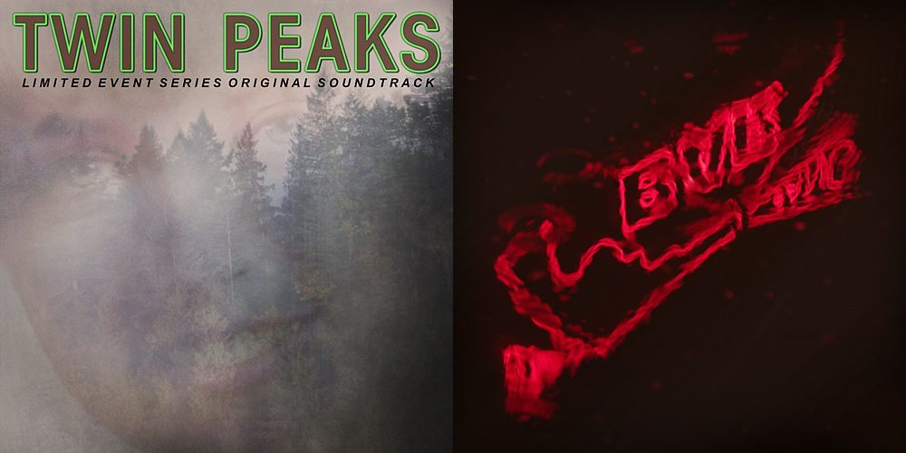 Cover from both Twin Peaks albums, Image: Rhino