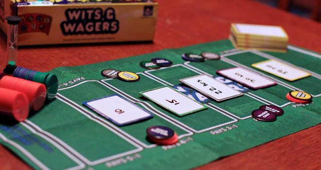 Wits & Wagers gameplay