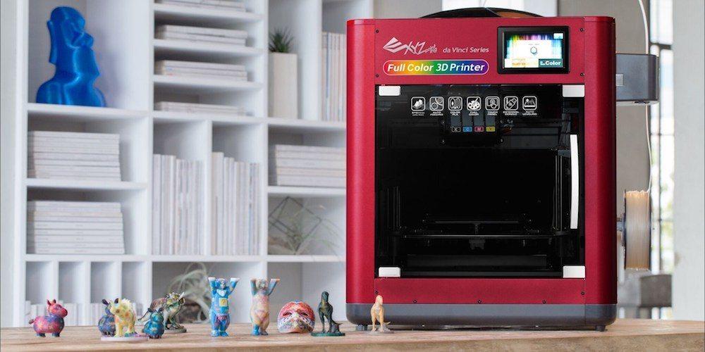 The da Vinci Color - a 3D color printer, from XYZprinting.