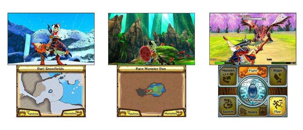 monster hunter stories screens