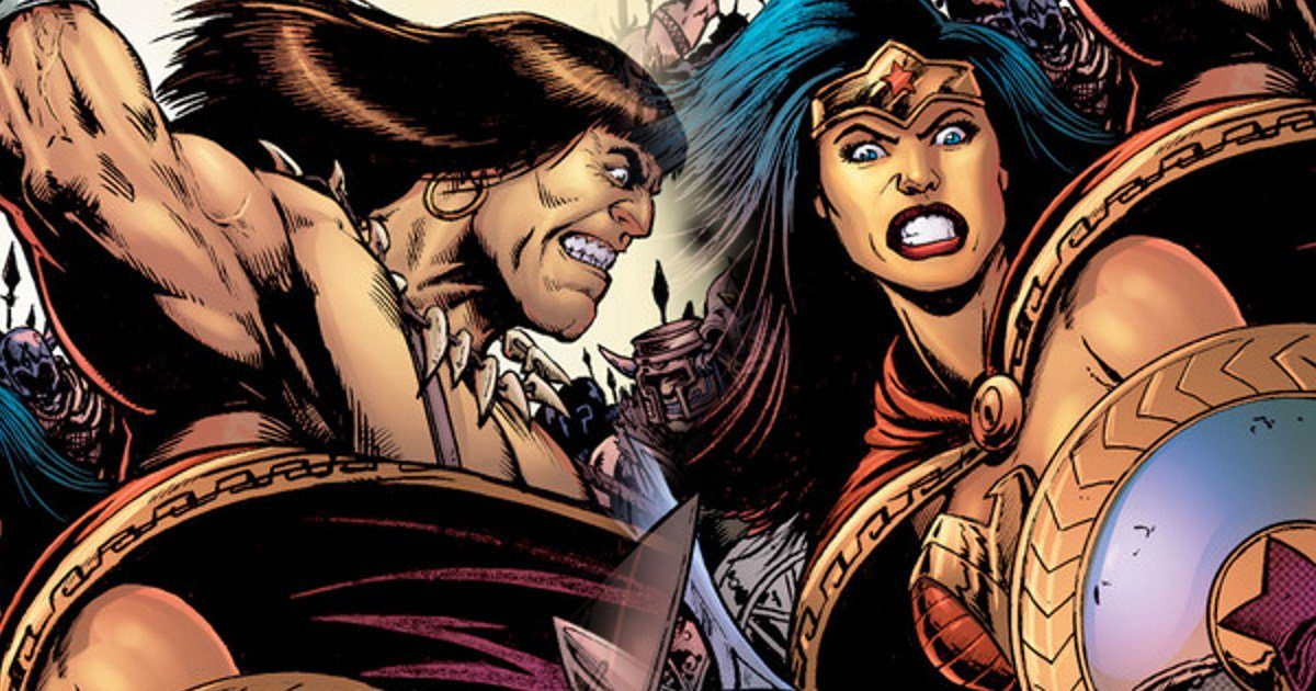 Wonder Woman/Conan the Barbarian #1