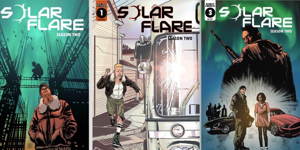Solar Flare Comic