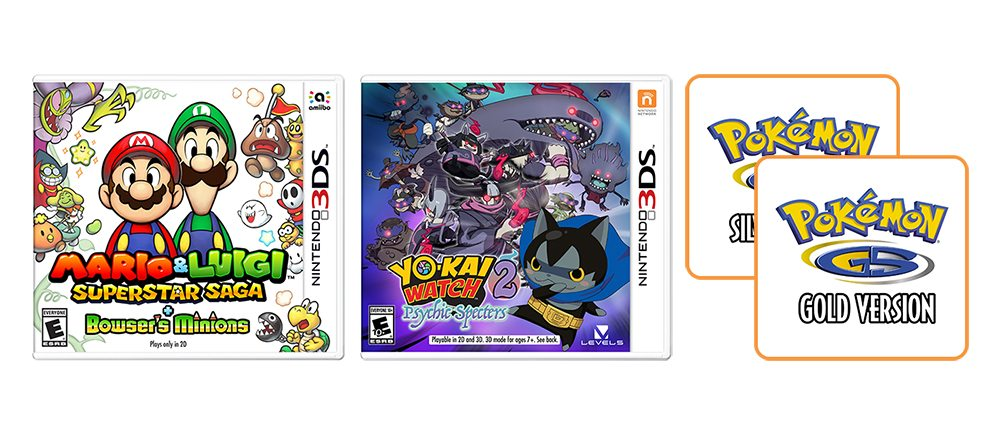 3ds favorites