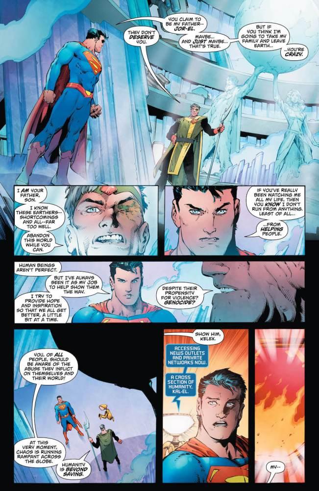 Jor-El, Superman: Action Comics 2017