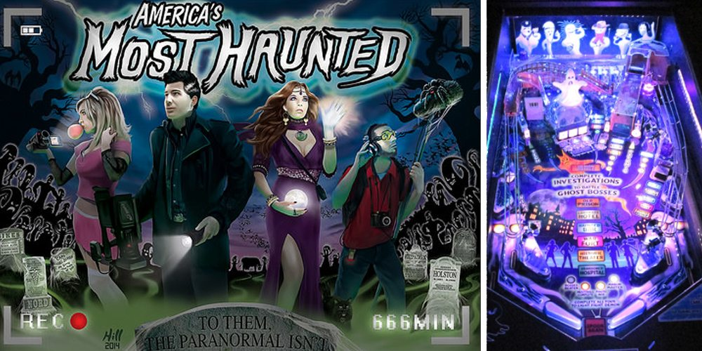 America's Most Haunted Pinball