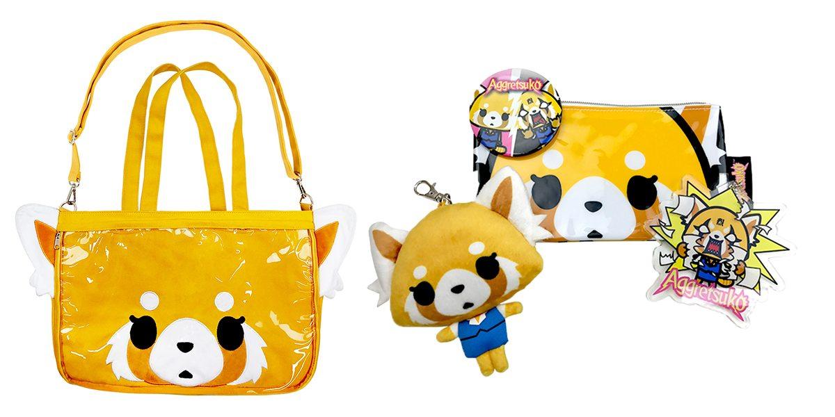 Aggretsuko bag is bigger than it looks. \ Image: Sanrio