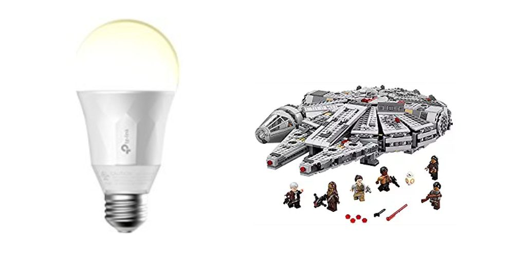Geek Daily Deals 100617 smart bulb lego star wars
