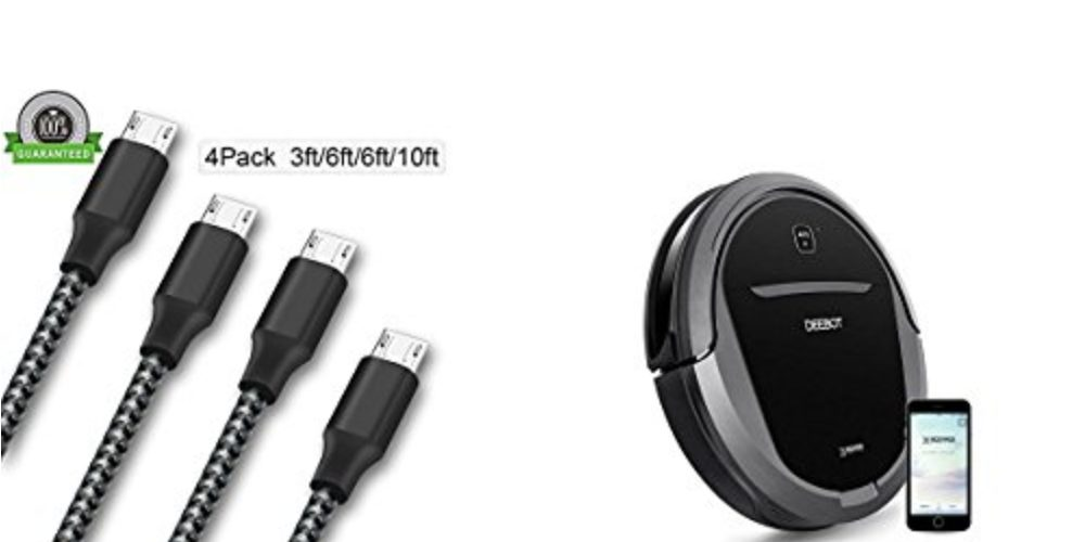 Geek Daily Deals 100817 micro usb cables floor vac
