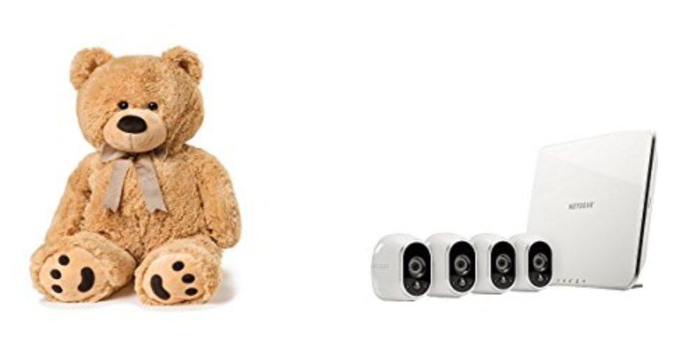 Geek Daily Deals 101917 teddy bear netgear cameras