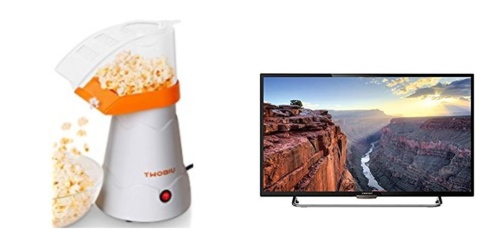 Geek Daily Deals 102217 popcorn televisions