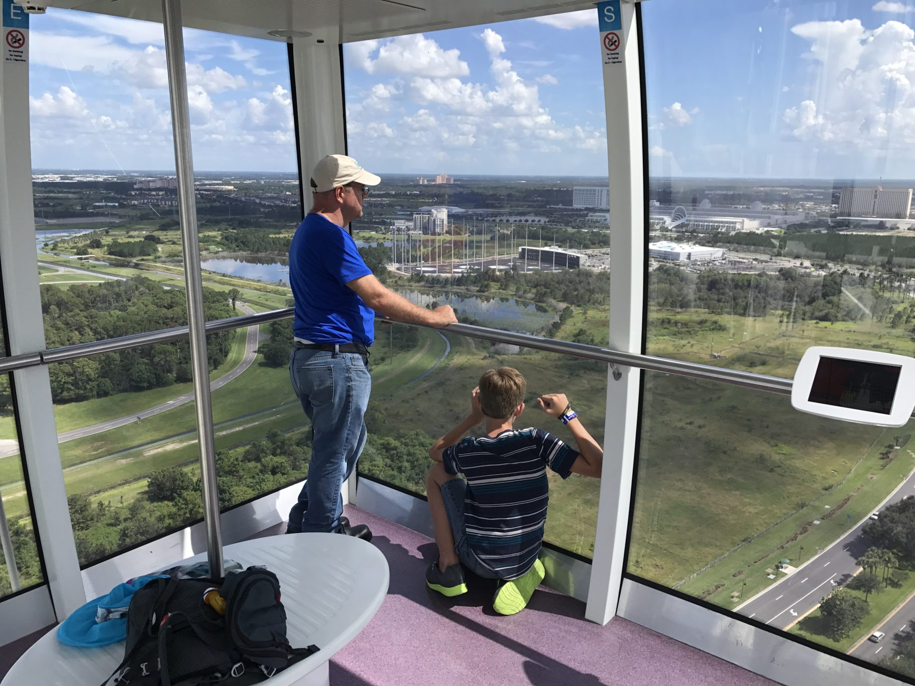 Relax and enjoy the view of the Orlando Eye \ Image: Dakster Sullivan