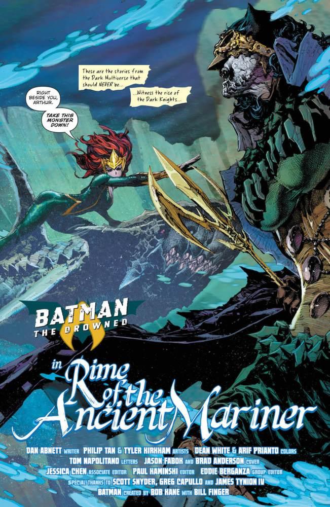 Batman: The Drowned, Bryce Wayne, 2017