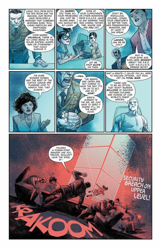 Batman the Merciless, Steve Trevor