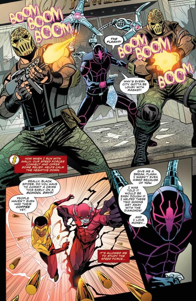 Flash #32, 2017, Wally West