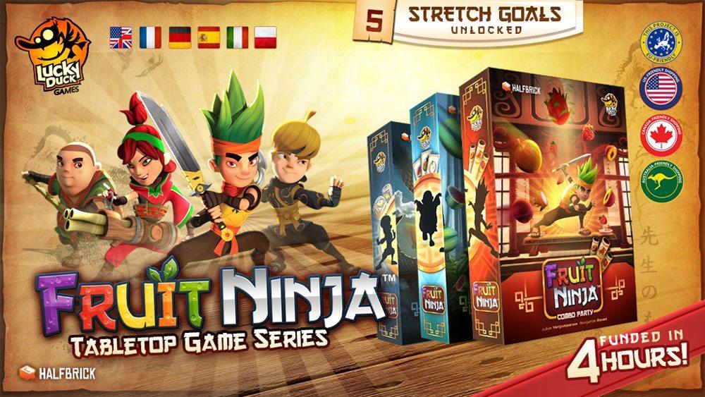 Fruit Ninja banner