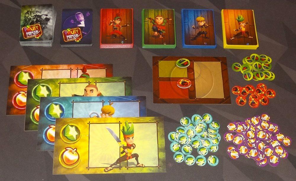 Fruit Ninja: Card Master components