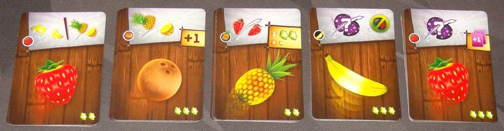Fruit Ninja: Card Master slicing upgrade cards