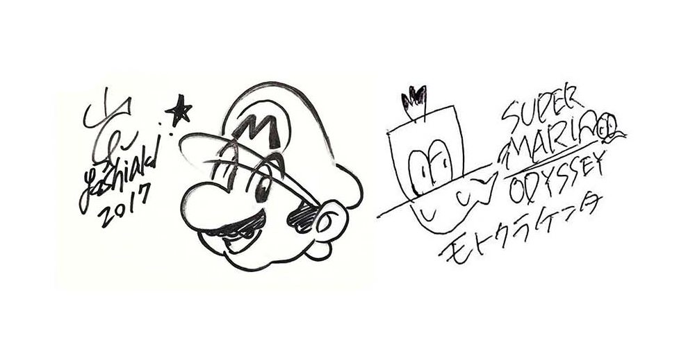 Kenta Motokura and Yoshiaki Koizumi signatures