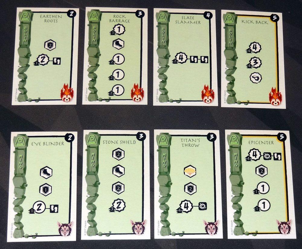 Legend of Korra: Pro-bending Arena fire cards