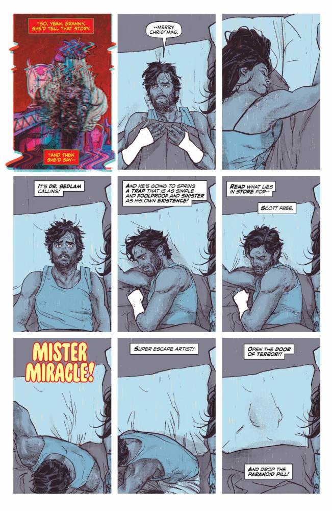 Mister Miracle, Gerads, 2017