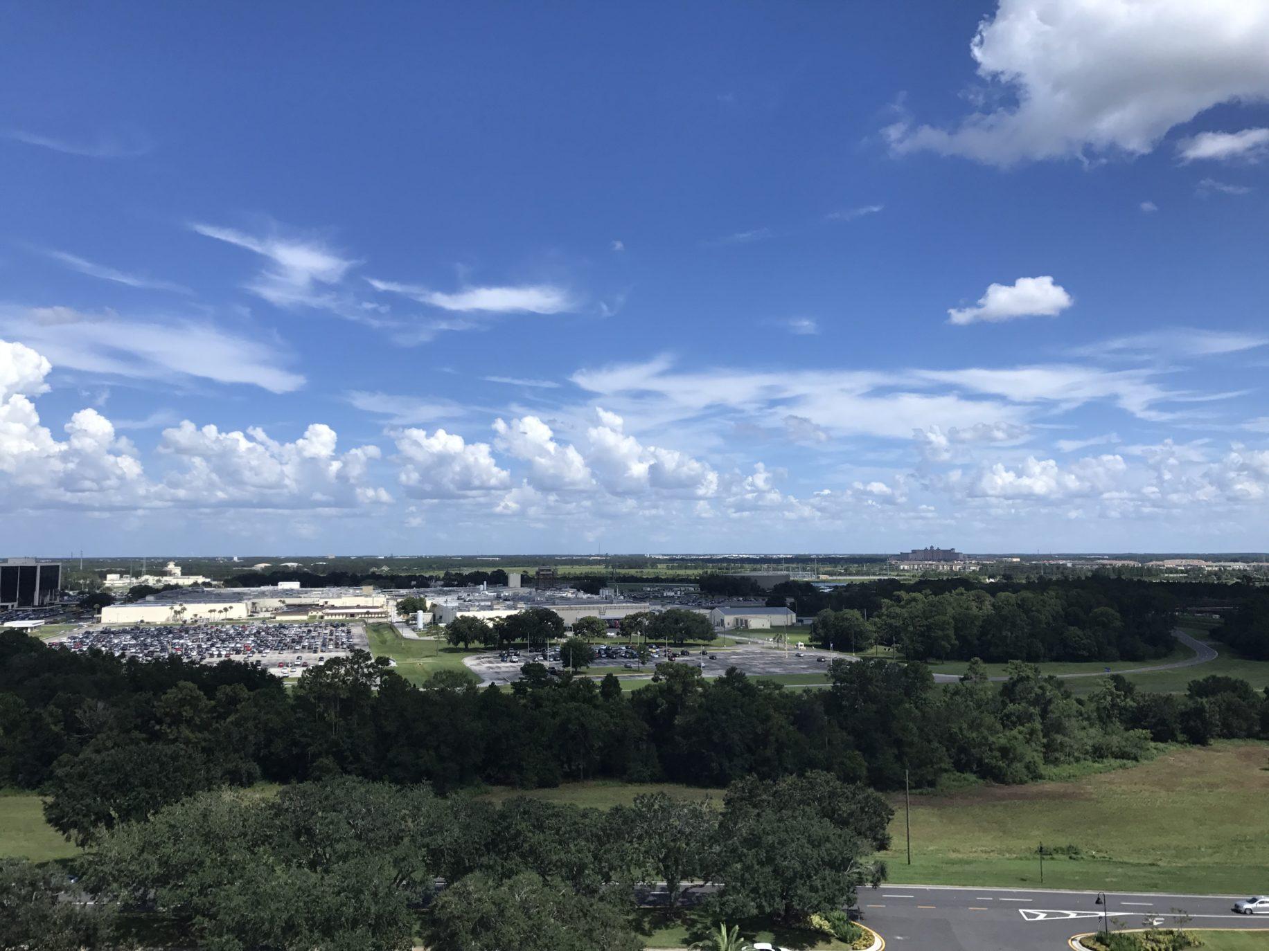 Nice views from the Orlando Eye \ Image: Dakster Sullivan