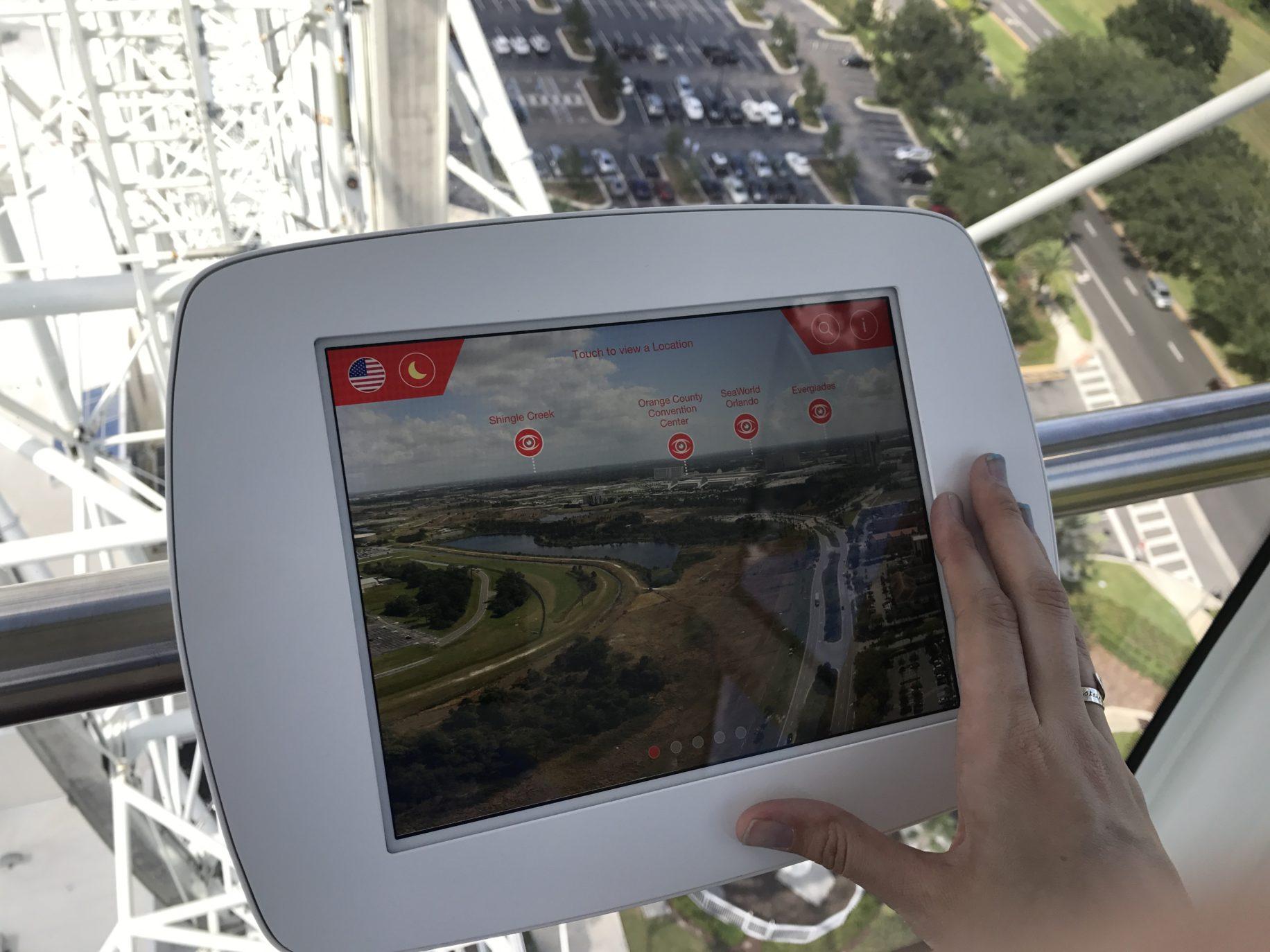 Orlando Eye iPad \ Image: Dakster Sullivan