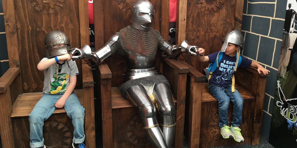 stories from conventions Dungeons and Dragons at Oz Comic Con