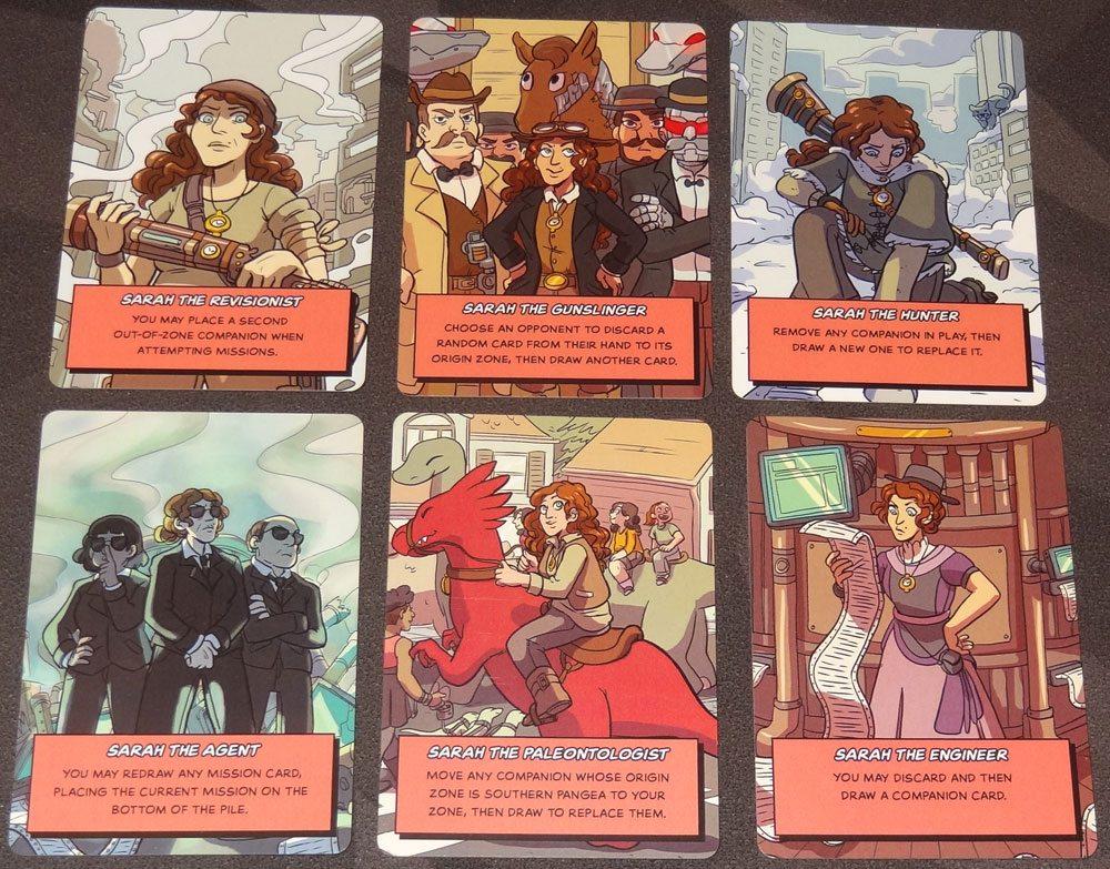 Sarah's Singularity Sarah cards