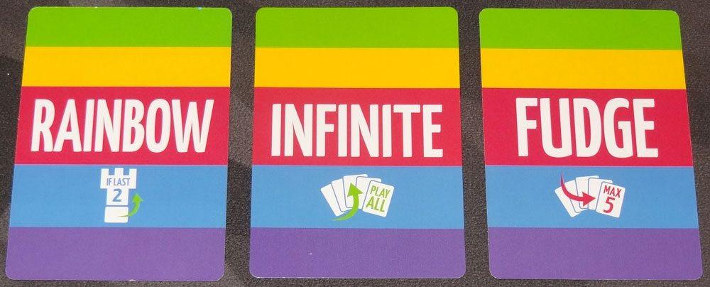 Sparkle*Kitty rainbow cards