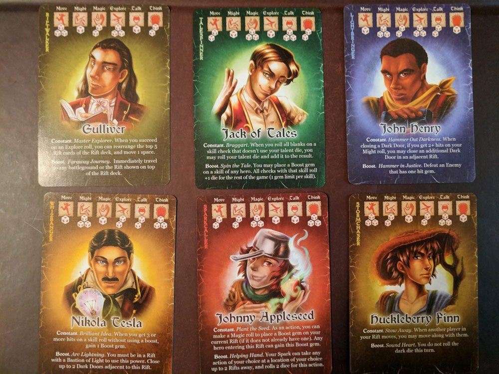 Storm Hollow Preludes Talent Cards - Male Side