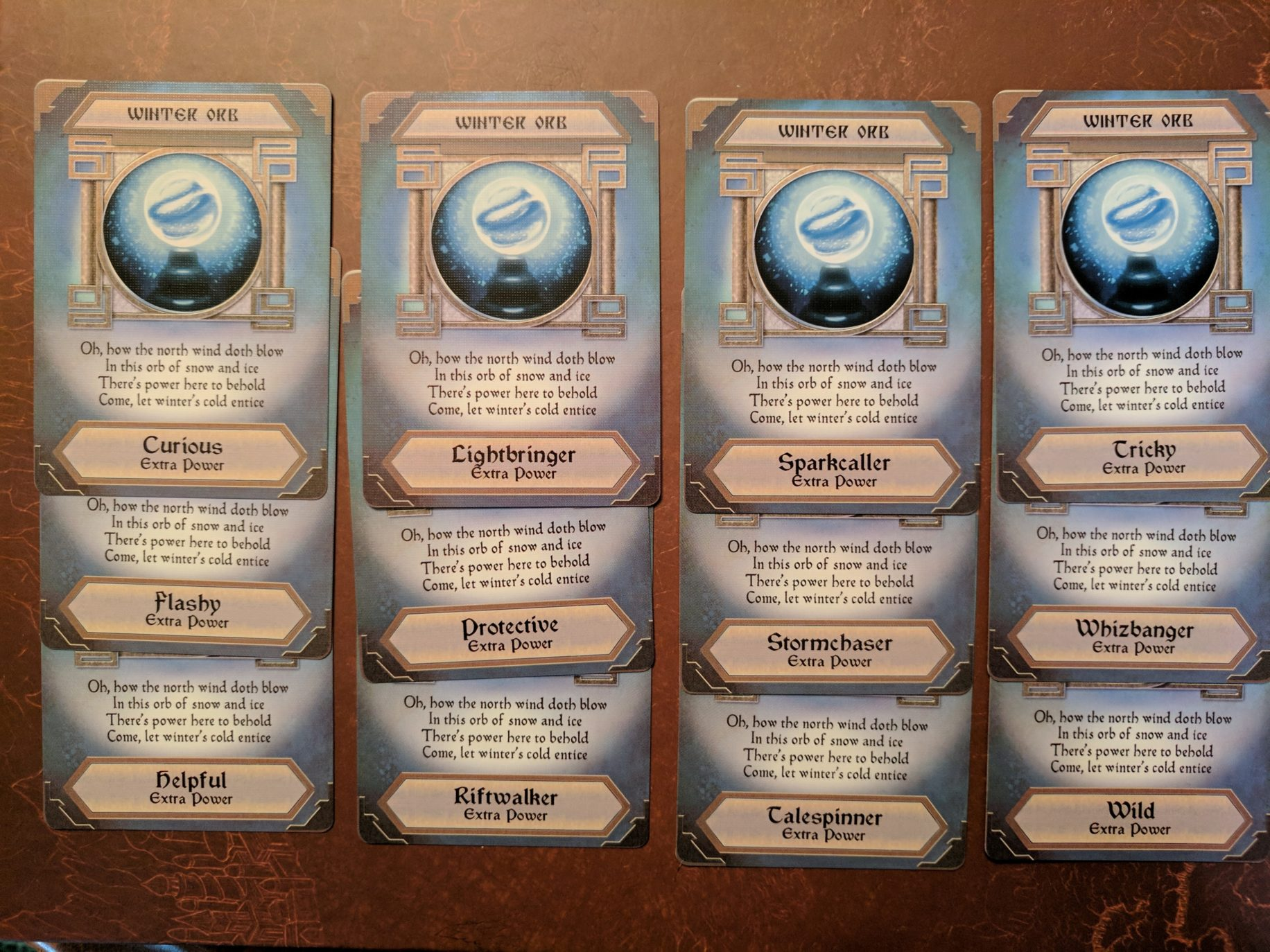 Storm Hollow Tales of a New Age Power Orb Cards Part 2