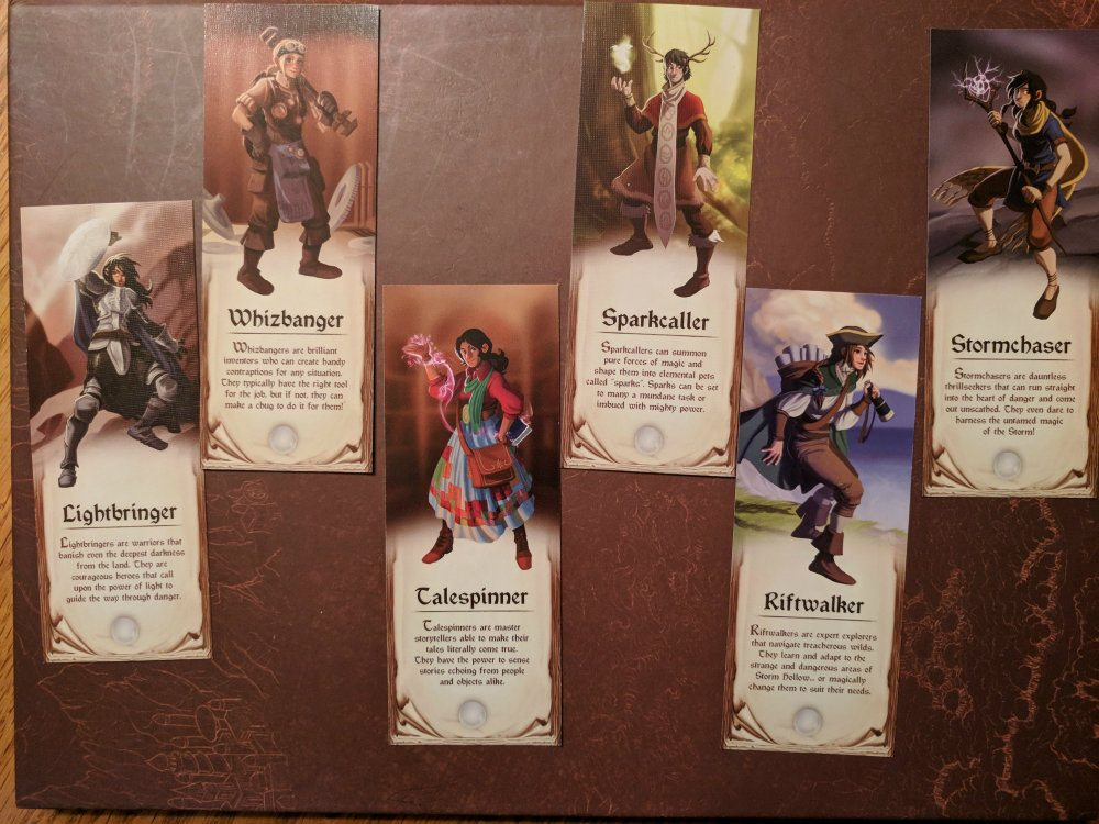 Storm Hollow Story Souvenirs Bookmarks