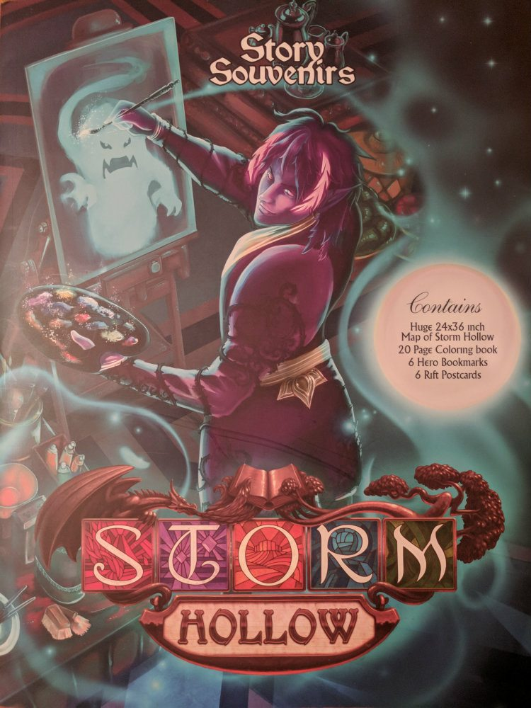 Storm Hollow Story Souvenirs Coloring Book