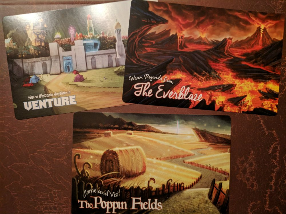 Storm Hollow Story Souvenirs Postcards 1 of 2