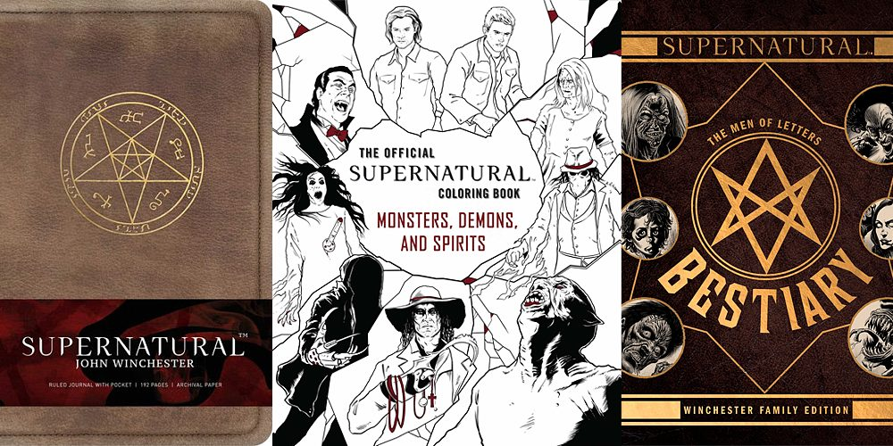 Supernatural Books from Insight Editions, Images: Insight Editions